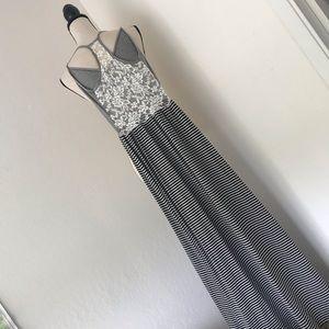 Finn & clover knit maxi dress XS